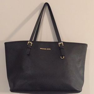 Michael Kors large black bag, tote, handbag, purse